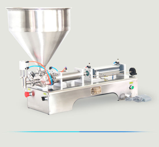 Manual Small Perfume Shampoo Sauce Beverage Honey Milk Juice Water Liquid Paste Glass Can Bottling Packing Filling Machine
