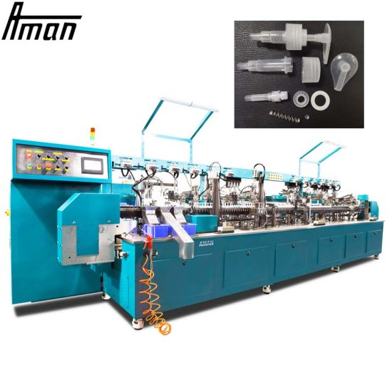 High Efficiency Plastic Cap Assembly Machine