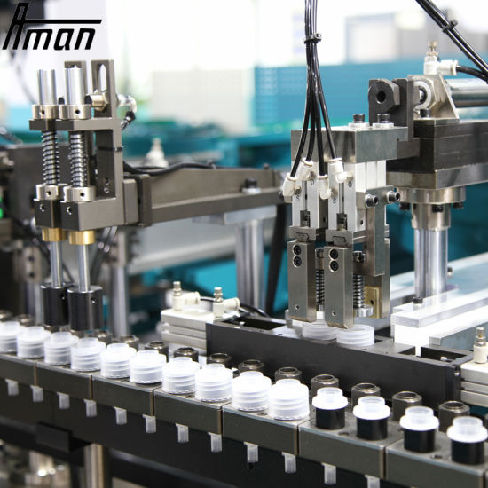Fully Automatic Plastic Caps Assembly Machine Lids Assembly Equipment Assembly Line for Liquid Soap Bottle Lids