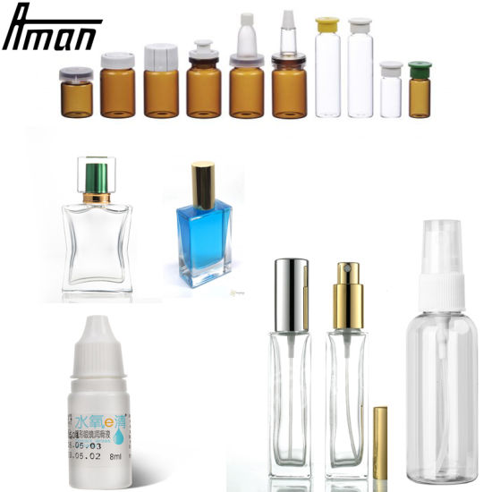 Milk Essential Oil Bottled Water Automatic Packing Bottle Water Liquid Packing Filling Machine