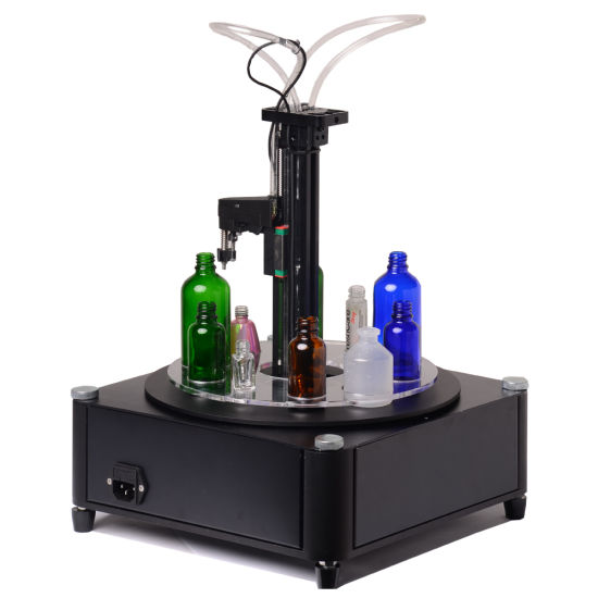 Automatic Level Control Liquid / Perfume /Fragrance/Attar Small Bottle Filling Machine with Ce Certificate