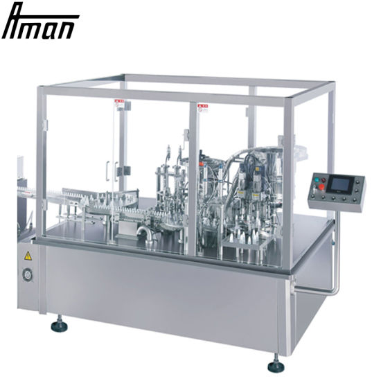 Glass Water Cleaner Automatic Filling and Capping Machine Automatic Small Bottle Filling and Capping Machine